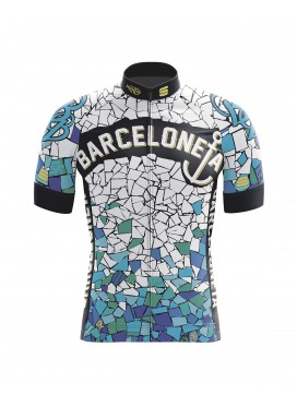 "Maillot Sportful Manga Corta ""Gaudi Barceloneta Bikes"""